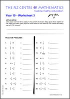Homework Sheets | Maths Centre
